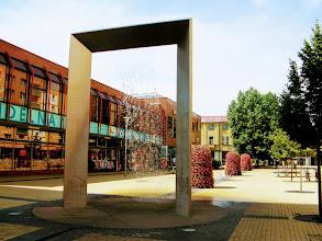 Photo: Загадочный конструктивистский фонтан