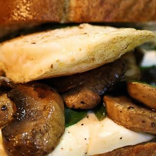 Breakfast Mushroom Melt
