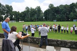 Photo: Ceremonia otwarcia zawodów. Mistrzostwa Małopolski Dzieci i Młodzików 2011 (Dobczyce, 16.08.2011)