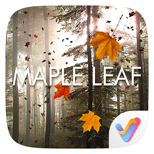 Maple Leaf 3D V Launcher Theme