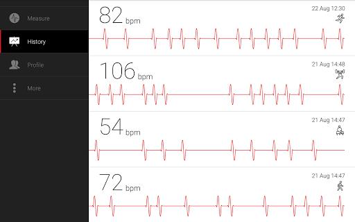 Cardiograph - Heart Rate Meter screenshot 8