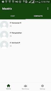 Maatrix Messenger - náhled