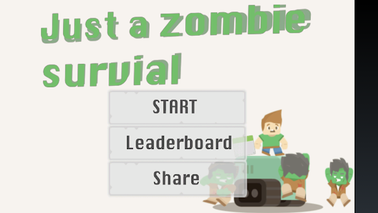 Just a Zombie Survival!- screenshot thumbnail