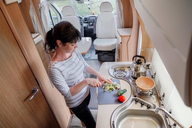 就算去到美國旅行也能在露營車享受煮食的樂趣