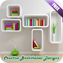 Creative Bookshelves Designs APK icon