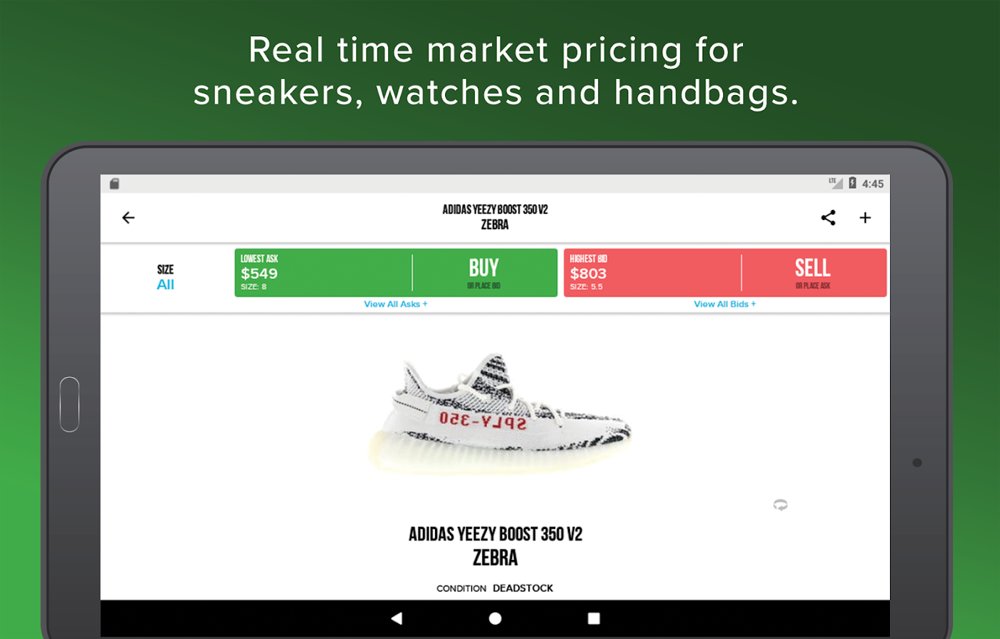 StockX - Buy & Sell Sneakers, Watches and Handbags- screenshot