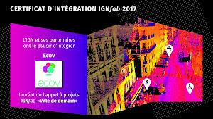 Certificat d'intégration IGNfab2017
