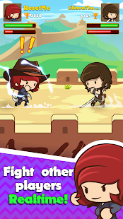 Swipe Fighter Heroes - Fun Multiplayer Fights Screenshot