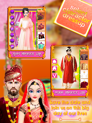 Indian Wedding Bride Arranged & Love Marriage Game ss2