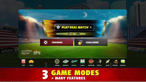 Super Fire Soccer android2mod screenshots 12