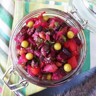 Vinegret – Винегрет – Russian Beet Salad