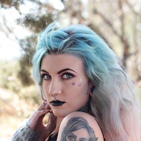 by Hayley Onselen - People Body Art/Tattoos ( woman, tattoo, portrait )