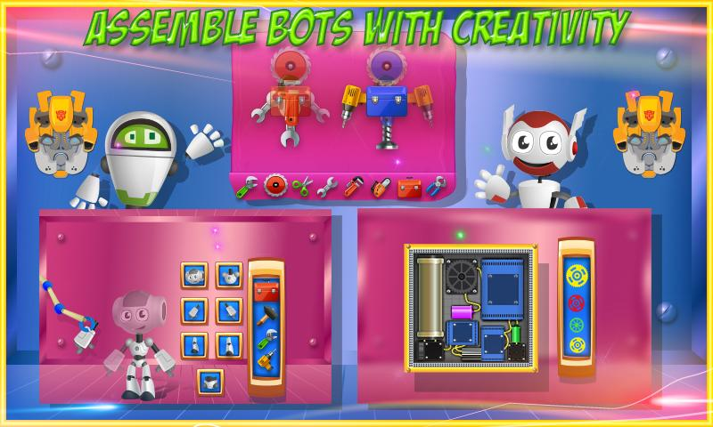 Build a Robot & Fix It- screenshot