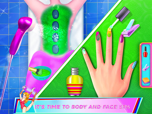 Gymnastics Dance Girl Dressup Salon Games for PC