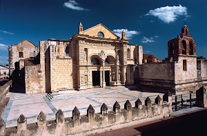 The Cathedral of Santa María la Menor in the Colonial Zone of Santo Domingo.