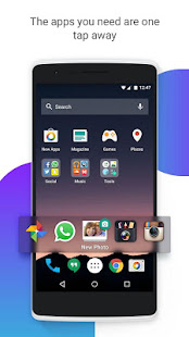 Screenshots of EverythingMe Launcher for iPhone