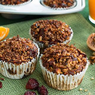 Cranberry Orange Pumpkin Muffins.