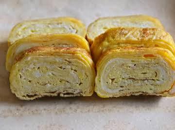 Tamagoyaki (pan fried rolled egg)
