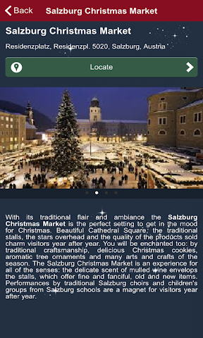 android Christmas Markets Europe 2015 Screenshot 5