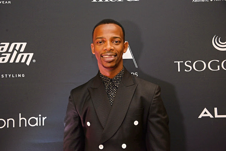 Zakes Bantwini at the SA Style Awards red carpet (Photo by Oupa Bopape/Gallo Images/Getty Images)