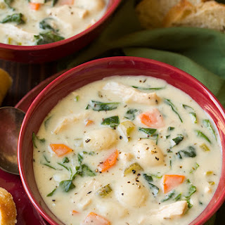 Creamy Chicken and Gnocchi Soup (Olive Garden Copycat)