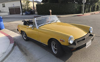 MG Midget Rent California