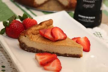 Blue Ribbon - Guinness Gingersnap Cheesecake