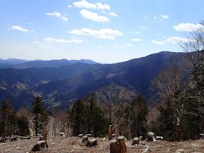 右に智者山が近く