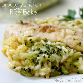 Broccoli Chicken and Rice Bake.