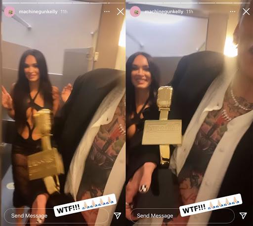 Megan Fox & Machine Gun Kelly Were Sexy As Hell At The Billboard Music Awards! LOOK!