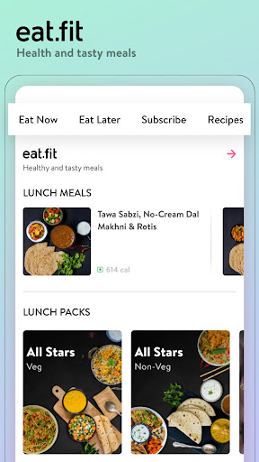 cure.fit Healthy food, Fitness, Yoga, Meditation screenshot 2