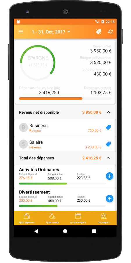 Souvent Comptabilité - budget mensuel – Applications Android sur Google Play GB59