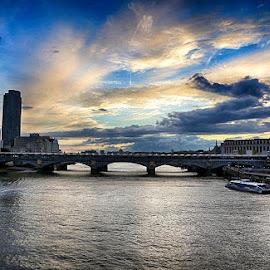 London by Abdul Rehman - City,  Street & Park  Vistas ( england, london, natural, uk, sunset, natural light,  )