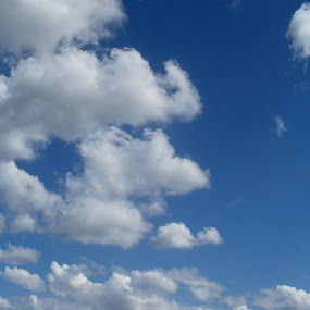 I am so happy by Gordana Djokic - Landscapes Cloud Formations ( clouds, sky, girl, nature, happy,  )