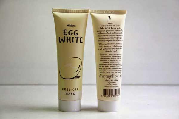 Masker Telur Egg White Peel OFF Mask