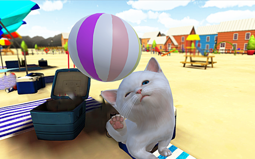 Kitten Cat Simulator:Cute cat SMASH Kids Room 1.0 screenshots 8