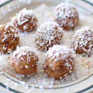 Coconut Orange Date Balls.