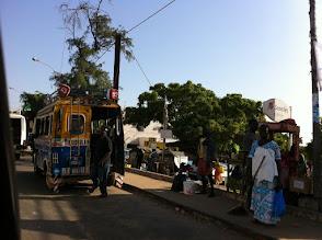 Photo: Senegal mini buses