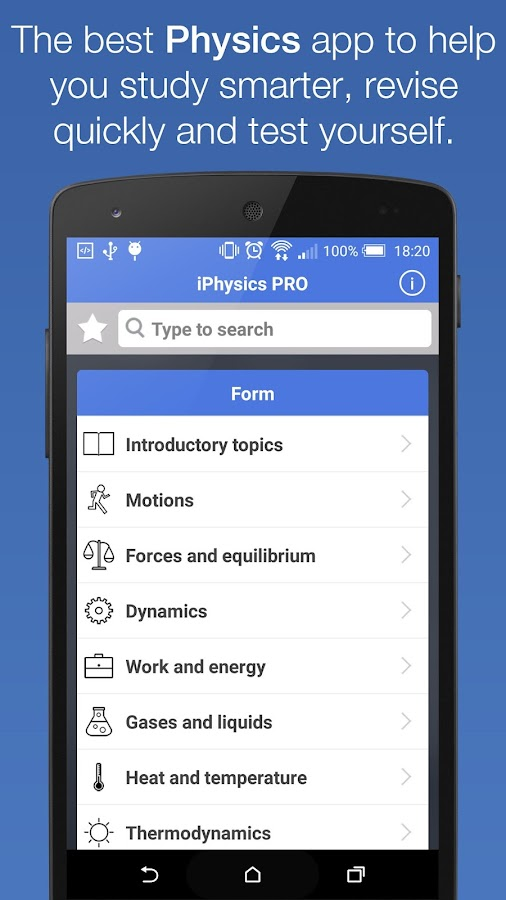 iPhysics™ Pro- screenshot