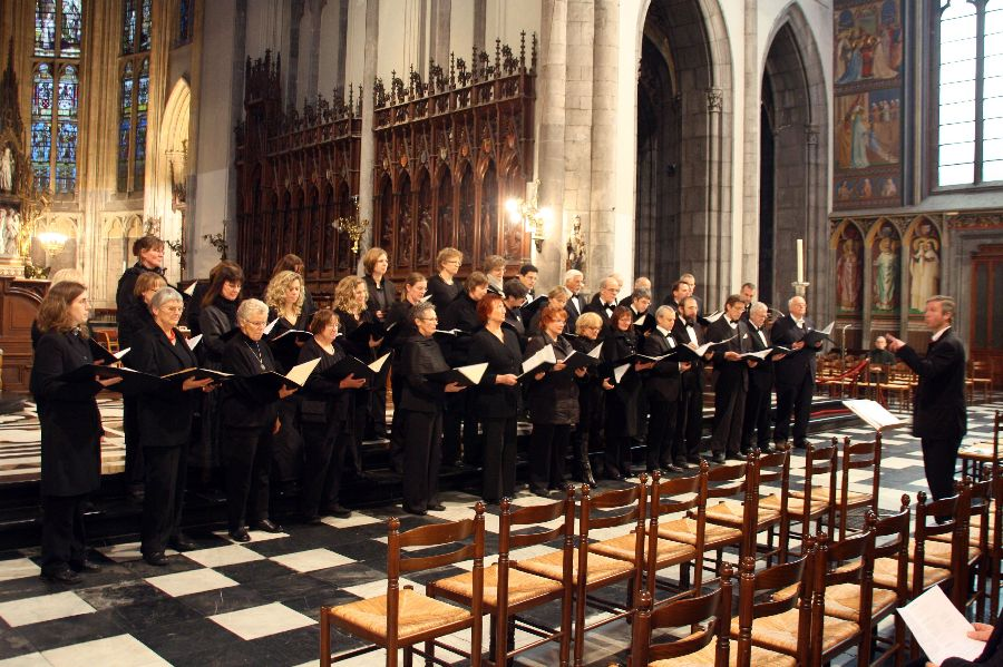 Photo: A-Cappella-Konzert Cathédrale Saint Paul, Lüttich/Liège/BEL / 05.12.2010