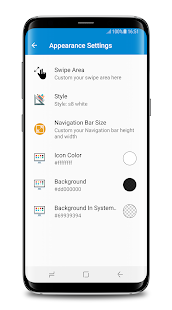 S8 Navigation bar (No Root)| Note 8 navigation bar Screenshot