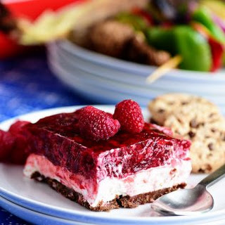 No-Bake Raspberry Cheesecake with Cookie Crust Recipe