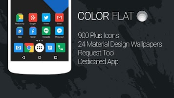 Screenshot of Color Flat - Icon Pack