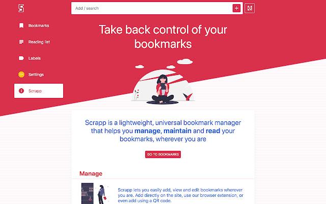 Scrapp Bookmarks