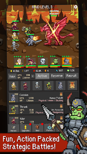 Idle Guardians: Offline Idle RPG Games ss1