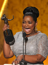 Photo: LOS ANGELES, CA - JANUARY 29:  Actress Octavia Spencer speaks onstage during The 18th Annual Screen Actors Guild Awards broadcast on TNT/TBS at The Shrine Auditorium on January 29, 2012 in Los Angeles, California. (Photo by John Shearer/WireImage) 22005_009_JS_0105.JPG *** Local Caption *** Octavia Spencer