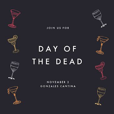 Day of the Dead Party - Instagram Post Template
