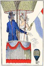 Photo: « Rapport sur le premier voyage aérien  du citoyen Garnerin avec la citoyenne Henri. » Journal des dames et des modes, 1797-1798.
