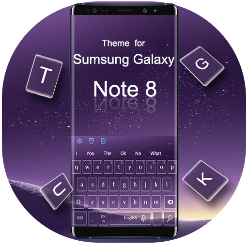 Keyboard for Galaxy Note 8