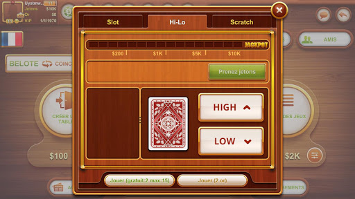 Coinche & Belote 11.0.69 screenshots 11